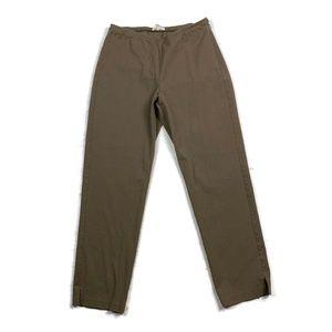 Eileen Fisher Slim Pants Ankle Side-Zip Organic